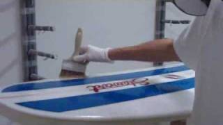 How to gloss a surfboard - by Seabase