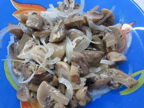 Очень вкусный и быстрый Рецепт Маринованных грибов, Шампиньоны по Венесуэльски.
