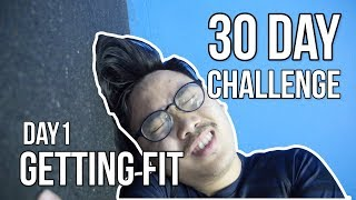 30 Day Fitness Challenge - Day1