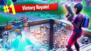 THE TRAP TROLL!!! (Fortnite Battle Royale Solo WIN Gameplay)