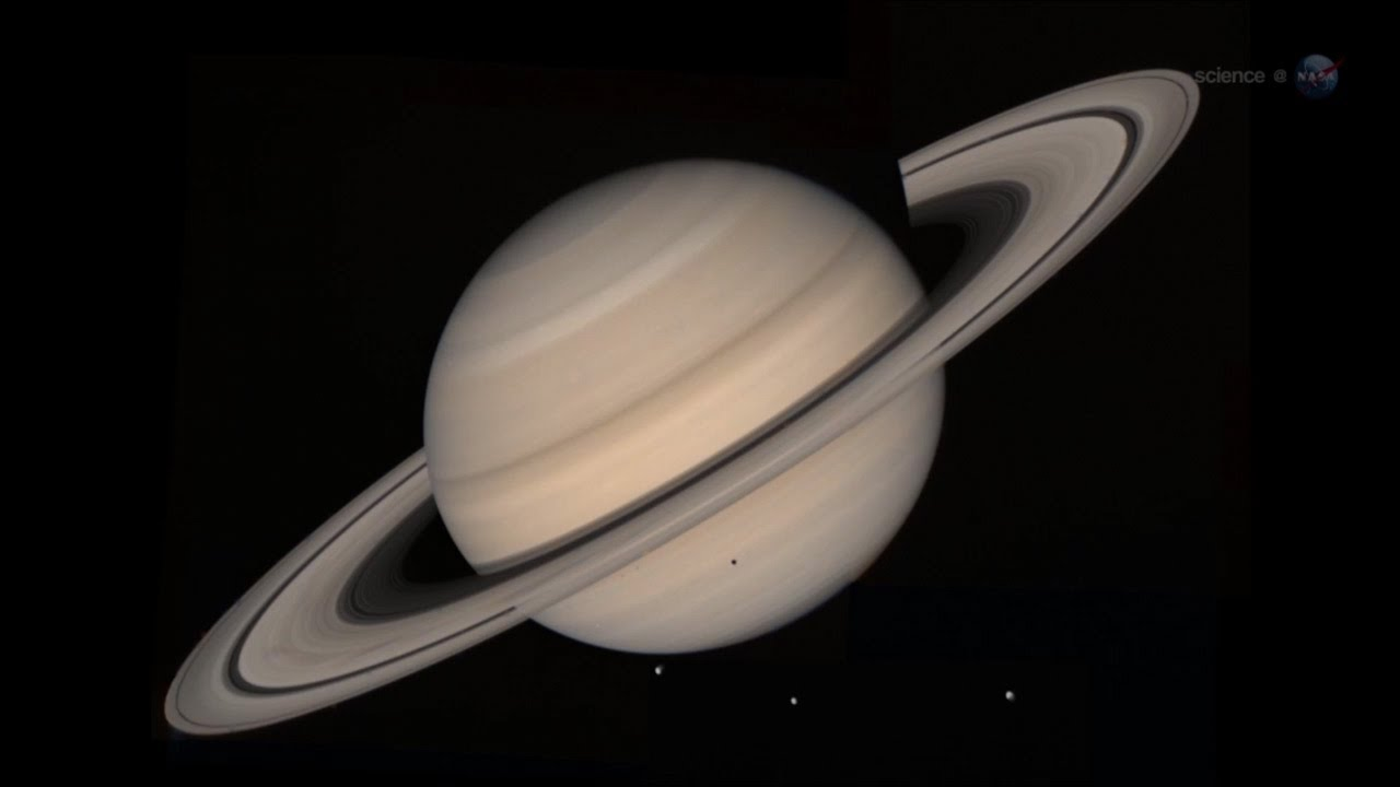 Sciencecasts Saturn Close Up Youtube