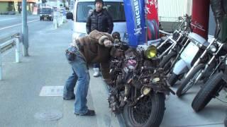調子のいいバイクは手でもかかる thumbnail