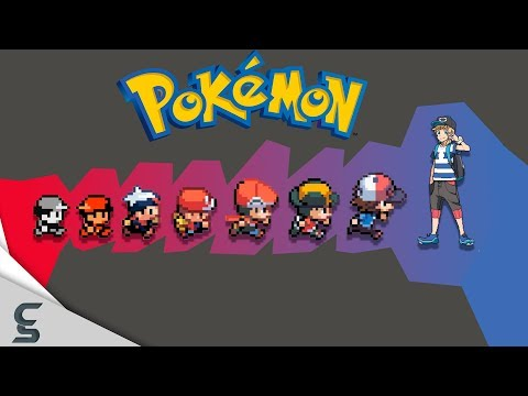The Evolution Of Video Game Graphics: Nintendo - Pokemon (1996 - 2017)