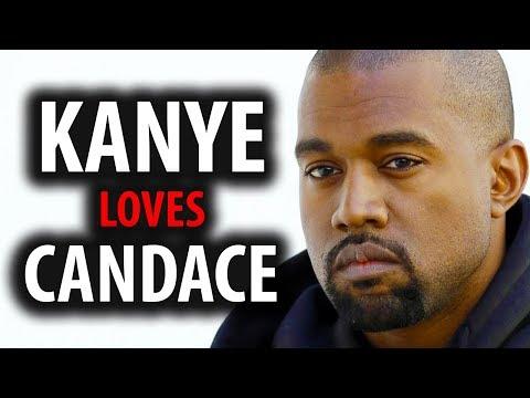 Kanye West Loves Candace Owens Conservative Thinking