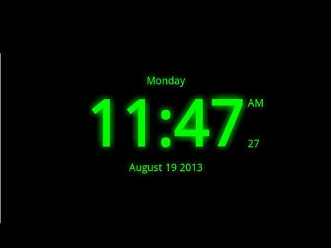 Digital Clock Live Wallpaper-7 - Apps on Google Play