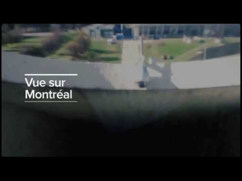 Vue INCROYABLE sur Montréal! EPIC View over Montreal! (Funiculaire, Olympic Tower, Canada, FUNNY!)