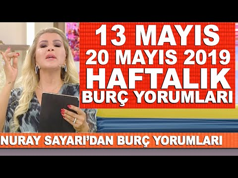 TÜM BURÇLAR | Nuray Sayarı'dan haftalık burç yorumları | 13 Mayıs - 20 Mayıs