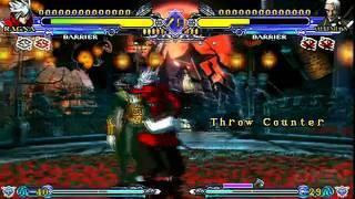 BlazBlue: Continuum Shift 2 PSP - Azure Power Gameplay