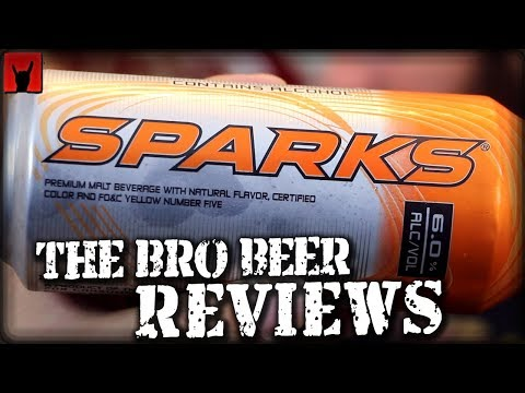 Sparks 6% abv - The Bro Beer Reviews