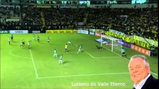 Criciúma 1 x 2 Palmeiras - Brasileirão 2014 - Narração: Silva Jr. ( Rádio Globo SP )