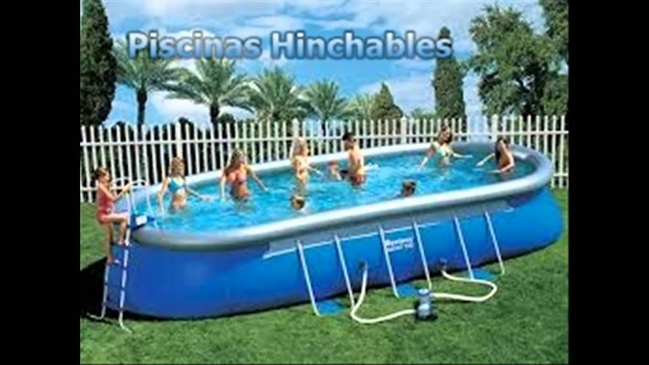 piscinas hinchables youtube