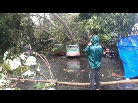 Angin Puting Beliung Terjang Batutulis Bogor