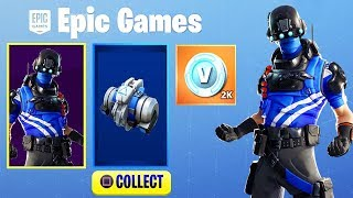 "New FREE ""CARBON COMMAND"" Skin Pack in Fortnite.."