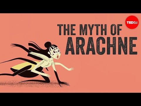 The myth of Arachne  - Iseult Gillespie