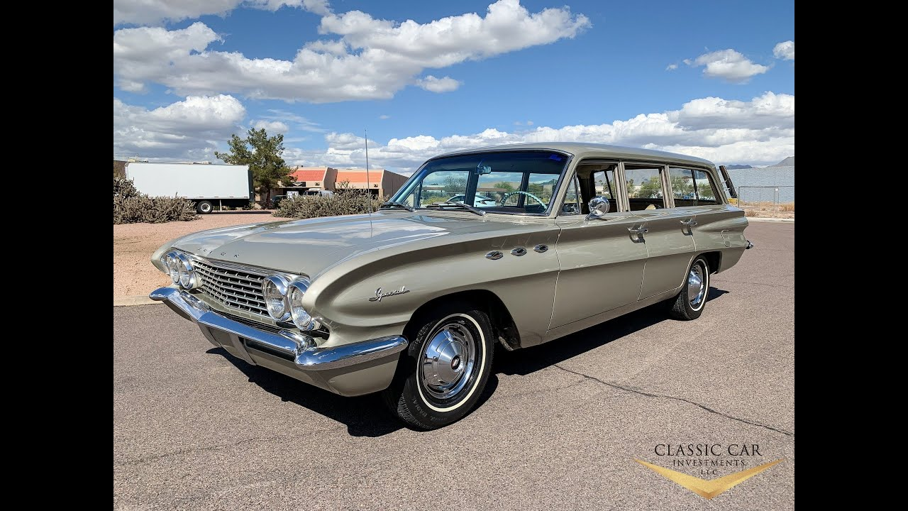 Sold 1961 Buick Special Wagon Very Original Car Only 32k Original Miles
