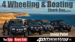 4 Wheeling & Boating Shark Bay, part 3/8 Steep Point