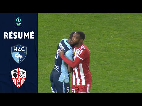 Le Havre AC Ajaccio Goals And Highlights