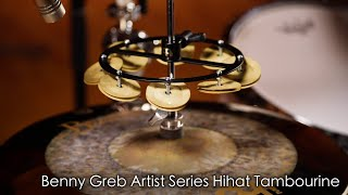 MEINL Percussion - Benny Greb Sand Hihat Tambourine (HTHHBG)