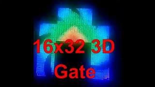 16x32 3D gate IC controller