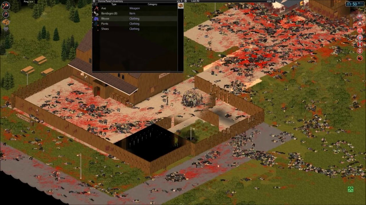 project zomboid how to clear a horde