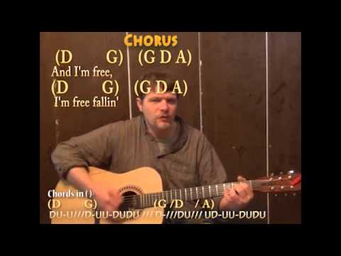 Free Fallin Tom Petty Guitar Cover Lesson With Chords Lyrics On