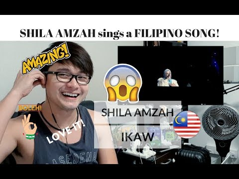 [REACTION] AMAZING! Malaysian Singer Shila Amzah 茜拉 sings IKAW by Yeng Constantino | #JANGReacts