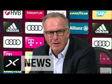"""Karl-Heinz Rummenigge: """"Verhältnis zum BVB vernünftig""""   FC Bayern München Teampräsentation"""