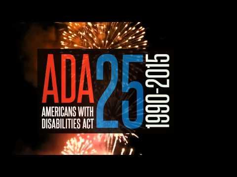 ADA 25 Celebrate PSA