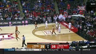 Texas vs Texas Tech Men's Basketball Highlights