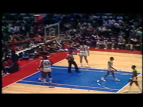1982 Finals: LA Lakers@Philadelphia Game 1 HIGHLIGHTS