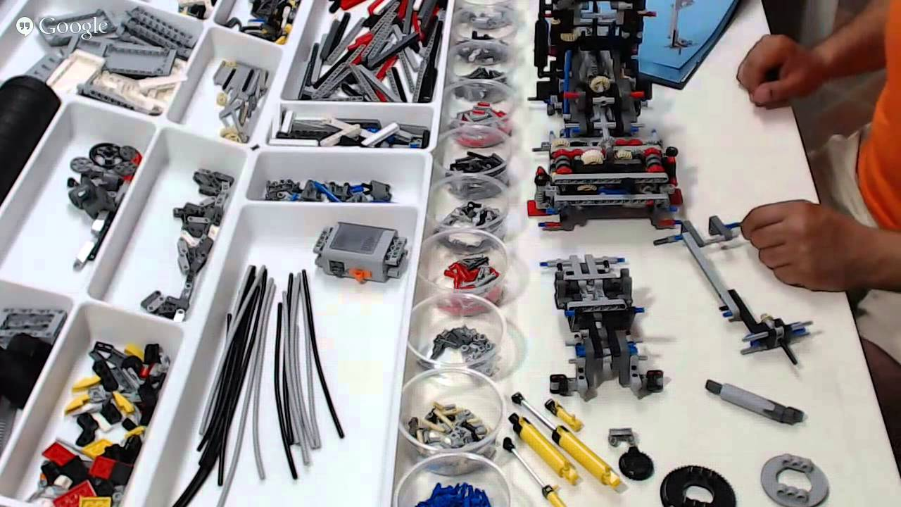 lego technic 42043, mercedes-benz arocs 3245 - live build event