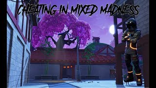 How To (CHEAT) In Fortnite Mixed Madness (Win By Only Doing The Parkour Course)