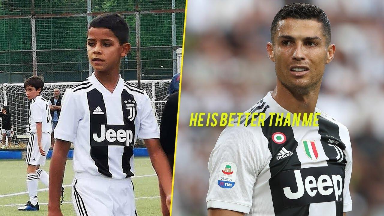 Kết quả hình ảnh cho Ronaldo jr vs ronaldo