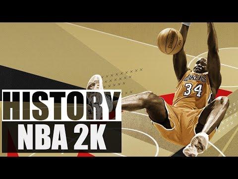 History of  NBA 2K (1999 - 2017)