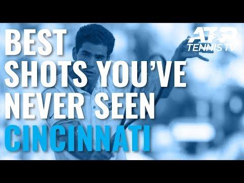 Amazing Shots You've Never Seen: Cincinnati Masters - YouTube