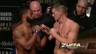 UFC 209: Weigh-in Faceoffs