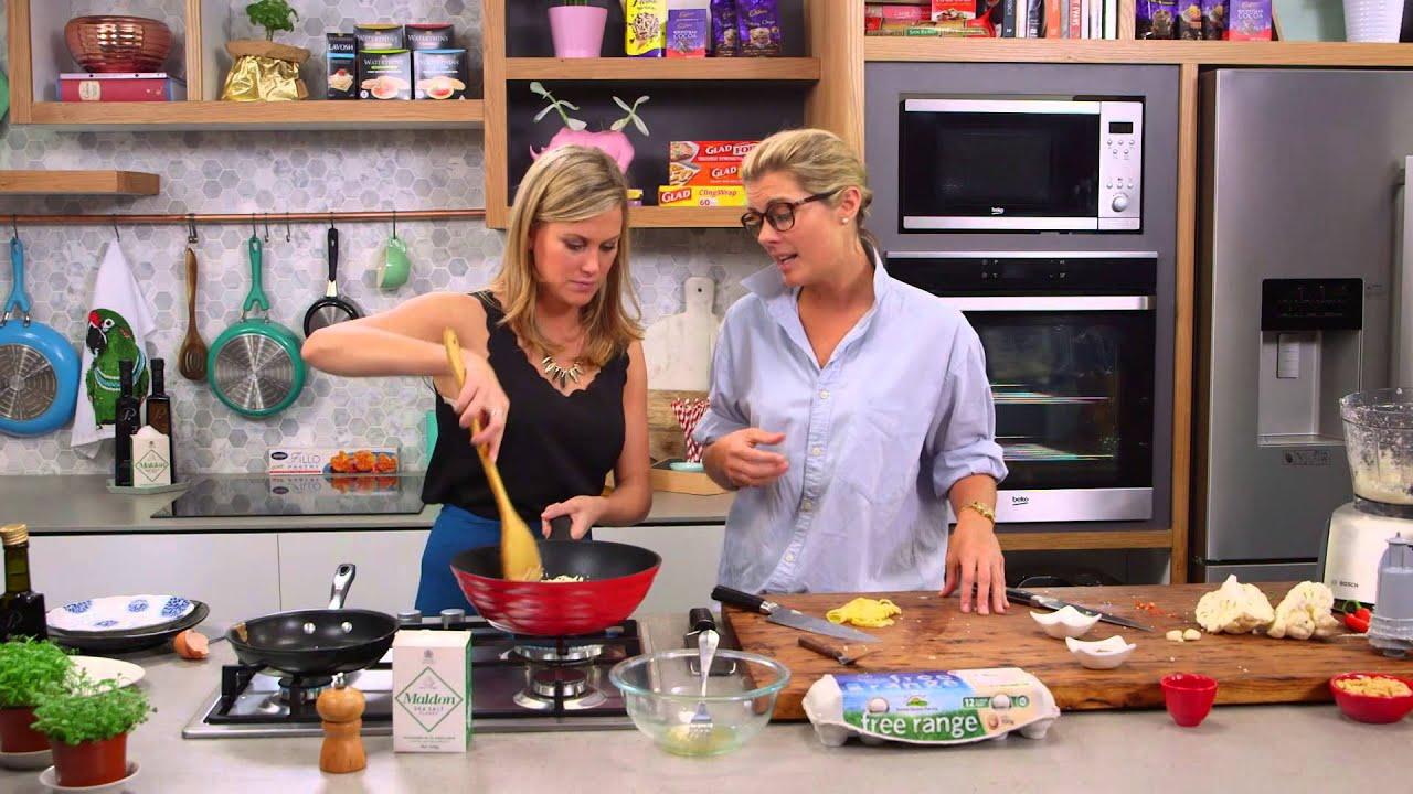 Rosie Mansfield - Cauliflower Nasi Goreng with Justine Schofield on Everyday Gourmet - YouTube