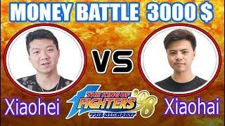 KOF 98 - Xiaohei (小黑) VS Xiaohai (小孩)【05•02•2019 FT10】Money Battle 3000$