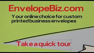 EnvelopeBiz Custom Printed Business Envelopes