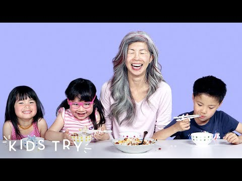 Kids Try Their Moms' Family Recipes   Kids Try   HiHo Kids
