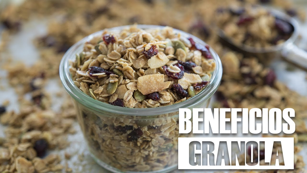 beneficios de comer yogurt con granola