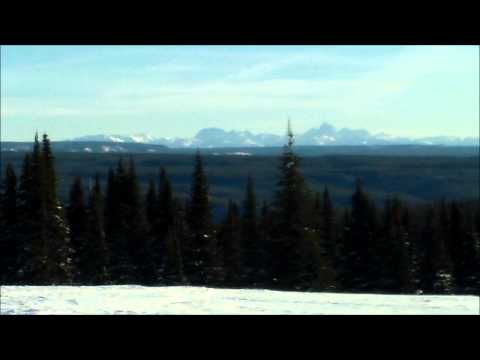 Snowmobiling in West Yellowstone and Grizzly and Wolf Discovery Center