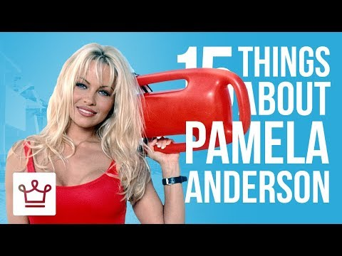 15 Things You Didn't Know About Pamela Anderson