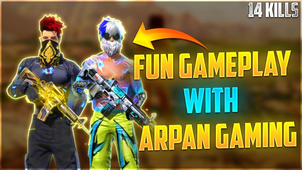 Duo Vs Squad is Fun Ft. Arpan Gaming || Free Fire - Desi Gamers