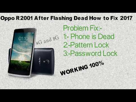 oppo-r2001-after-flashing-dead-how-to-repair-2017