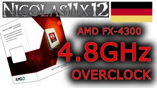 [DEUTSCH] AMD FX-4300 4.8GHz Übertaktung Testbericht
