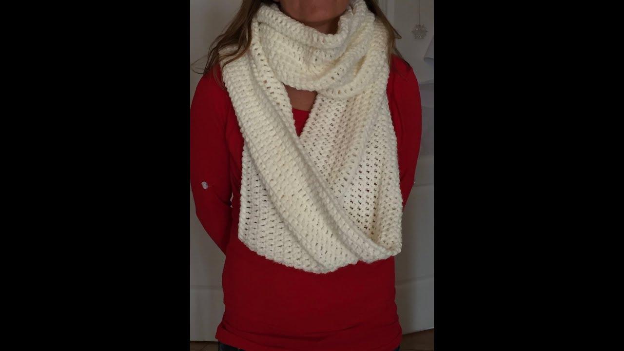 Tuto Snood Au Crochet Special Gaucher