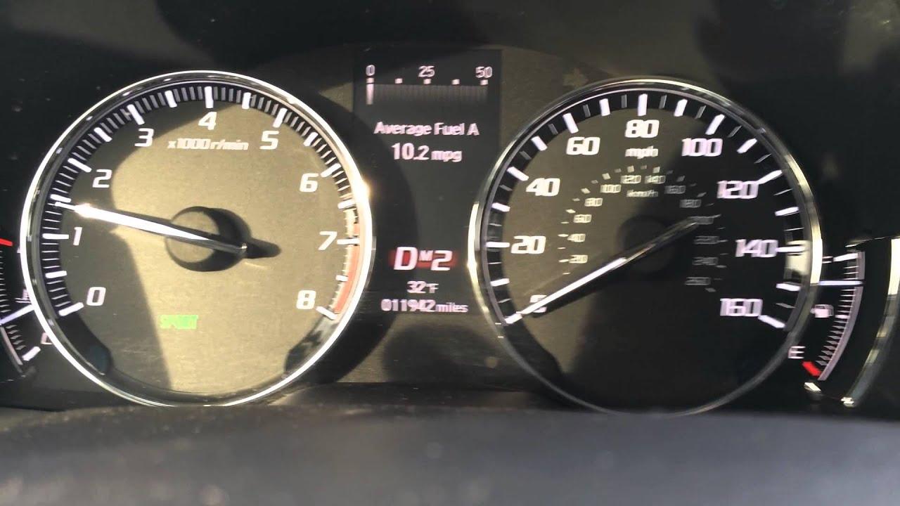 2017 Acura Rlx Test Drive 5 0 60
