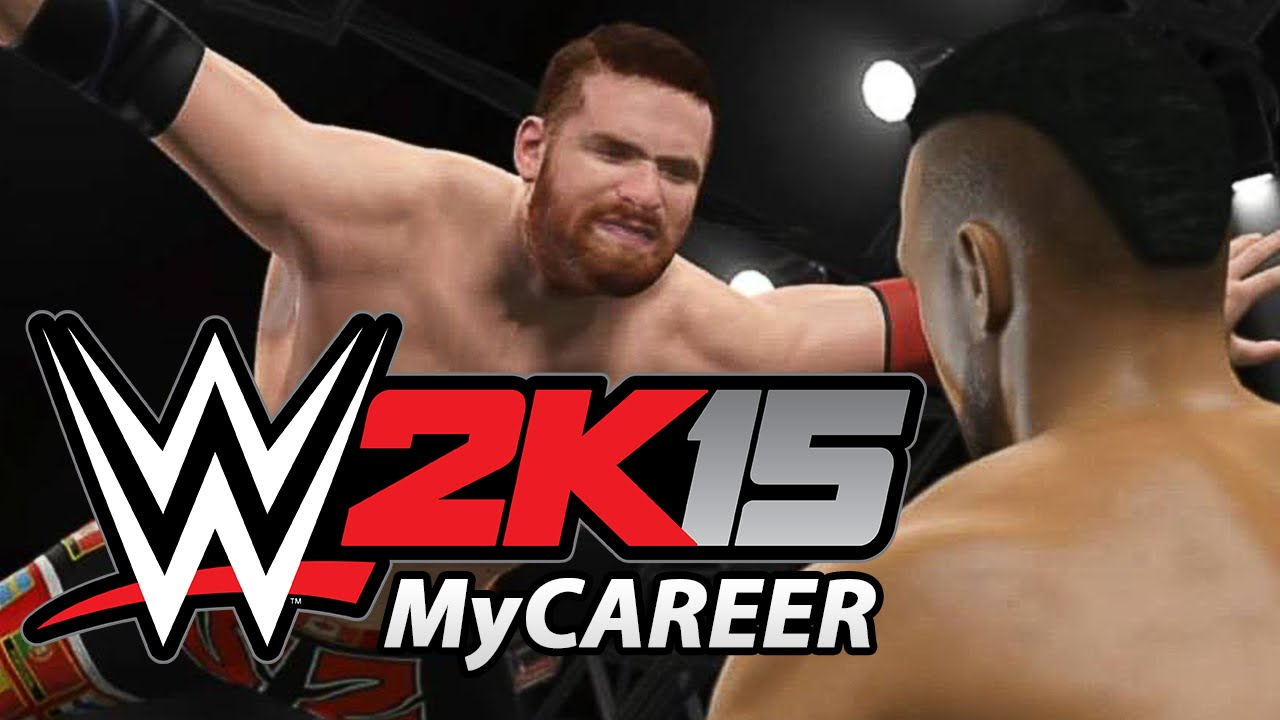 alle infos zum wwe 2k15 mycareer modus wowg breaking news deutsch youtube. Black Bedroom Furniture Sets. Home Design Ideas