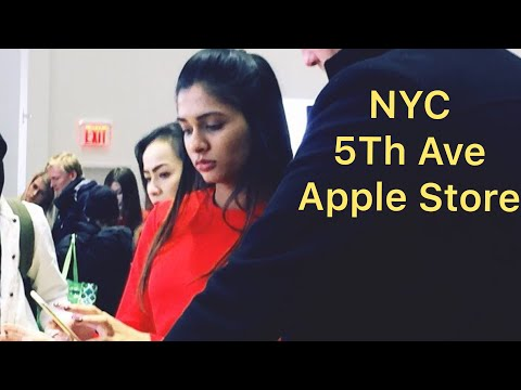 Apple Store New York City 5th Ave